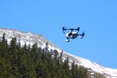 Drone Dji Inspire montagne