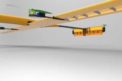 Drone spécifique, vue de dessous