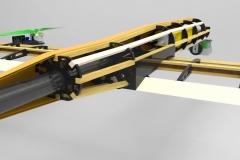 Drone spécifique, vue en coupe