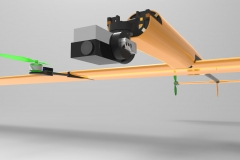 Drone spécifique, vue avant